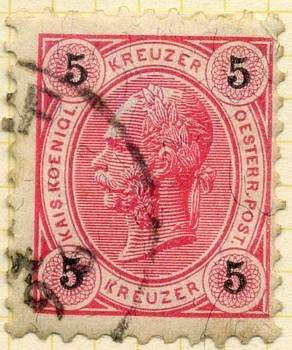 50 Kreuzer Austria Sg89 Used